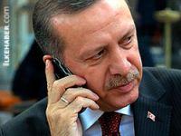 Erdogan'dan Uğur Kurt'un ailesine taziye