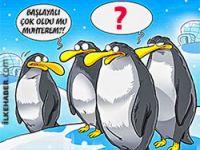 STV'nin penguenleri Gırgır'ın kapağında!