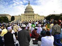 Washington'da tarihi bir namaz!