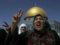 Filistinliler ile israil polisi arasında çatışma
