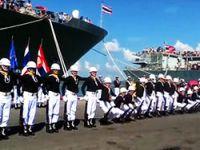 Tayland ordusundan ilginç gösteri Video