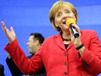 Merkel'in zaferi yabancı basında