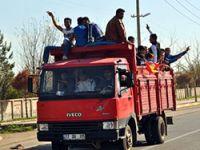 Diyarbakır'da yüzbinler Newroz alanına akın ediyor