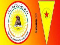 PDK'den YPG'ye sert yanıt