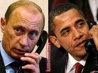 Putin Obama'yı aradı