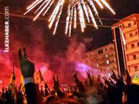 Diyarbakır'da zafer kutlaması