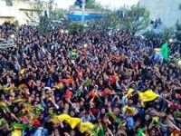 Viranşehir BDP'nin: Halk  kutlamalara başladı