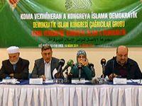 Demokratik İslam Kongresi çağrı metni açıklandı