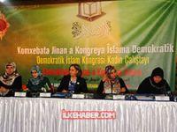 'Demokratik İslam Kongresi Kadın Çalıştayı' yapıldı