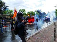 İstanbul'da göstericilere polis müdahalesi