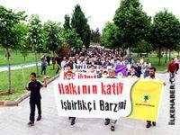 Diyarbakır'da pankart rezaleti