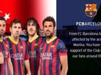 Barcelona'dan Soma mesajı