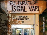 İTÜ'de 'işgal' eylemi sona erdi