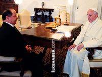 Barzani, Papa Francesco ile görüştü