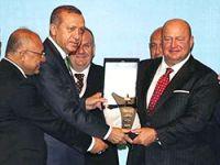 Başbakan Erdoğan, Koç Grubu'na ödül verdi
