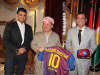 Masud Barzani 2014 Dünya Kupası favorisini açıkladı