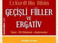 Kürtçe öğreniminde yeni bir eser: Geçişli fiiller ve ergativ