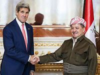 Kerry ile görüşen Barzani: Yeni bir Irak gerçeği var