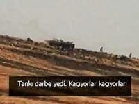 IŞİD Türkiye sınırından Rojava'ya saldırıyor