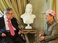 Barzani'den Talabani'ye ziyaret