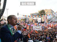 Erdoğan Diyarbakır'da konuştu: Bana vereceğiniz her oy çözüm sürecine katkı olacaktır