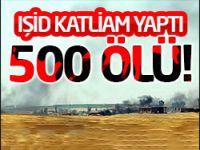 IŞİD katliam yaptı: 500 ölü!
