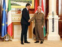 Barzani Hewlêr'de İtalya Başbakanı Renzi ile görüştü
