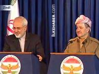Barzani, İran Dışişleri Bakanı Zarif'i kabul etti