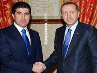 Erdoğan, Neçirvan Barzani ile görüştü