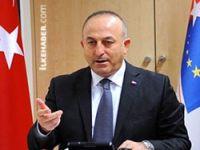 Dışişleri Bakanı: IŞİD'le mücadelede silahlar PKK'nin eline geçmemeli
