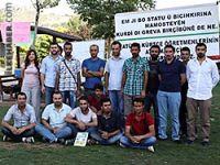 Kürtçe öğretmenleri 19. gününde açlık grevini sonlandırdı