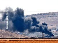 Kobani'de en etkili hava saldırısı