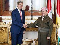 Kerry ve Barzani Kobani'yi görüştü