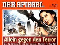 Der Spiegel Kobanê direnişini kapağına taşıdı