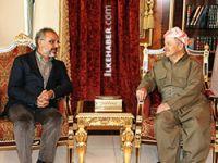 Mesud Barzani Sırrı Sakık ile görüştü