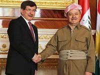 Davutoğlu, Barzani'yi Türkiye'ye davet etti