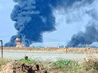 IŞİD Kerkük doğal gaz boru hattını füzelerle vurdu