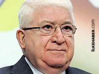Irak Cumhurbaşkanı Mahsum'dan Barzani'ye kutlama mesajı
