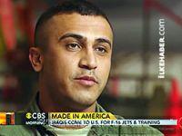 CBS: En başarılısı Kürd pilot