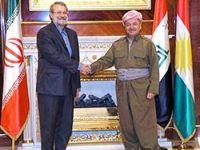 Ali Laricani: 'Kürdistan'ın savaştaki başarısını takdirle karşılıyoruz'