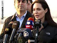 Federal Kürdistan'a giden Angelina Jolie'den dünyaya çağrı