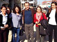 HDP'li vekiller Kobani'ye geçti