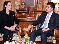 Angelina Jolie, Neçirvan Barzani ile görüştü
