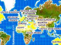 Kürdistan, 'IŞİD'e karşı savaşan ülkeler' listesinde