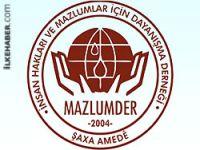 Mazlum-Der: Özgür Amed serbest bırakılsın