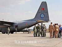 Türkiye'den Irak'a iki uçak dolusu silah