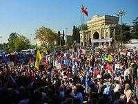 Mescid-i Aksa için İstanbul'dan büyük destek!