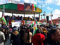PAK'ın Van Newroz Mitingi: Bijî Azadîya Kurdistan