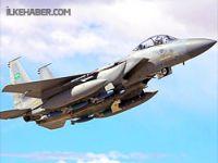 Suudi Arabistan'a ait savaş uçağı düştü