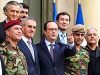 Hollande, Elysee Sarayı'nda Peşmerge Bakanı'yla görüştü